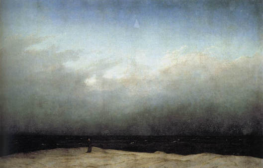 Casper David Friedrich Monk by the Sea